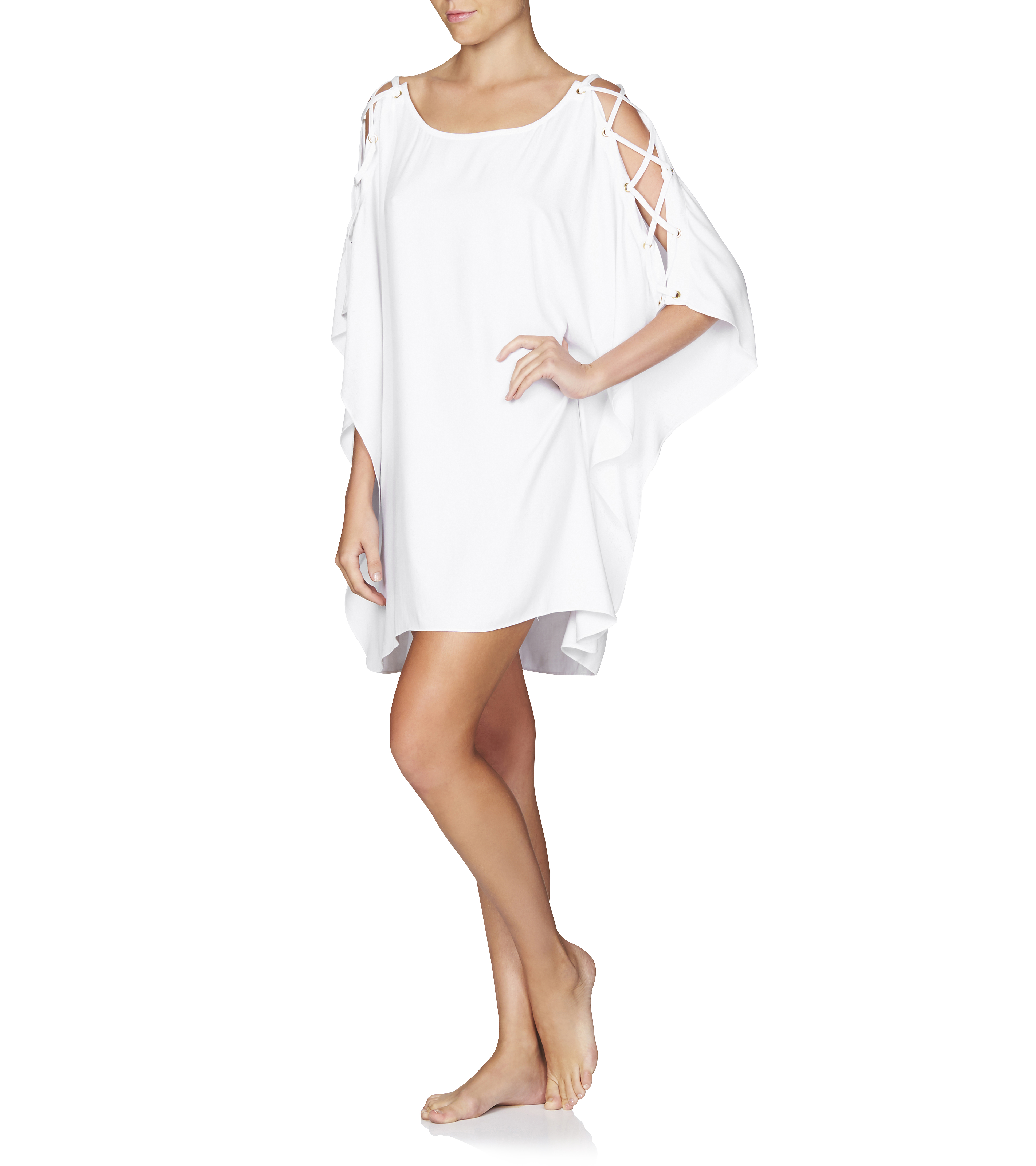 Coco Azure Short Coverup